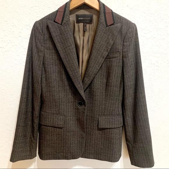 BCBGMaxAzria Jackets & Blazers - BCBG Maxazria Martine Career Wear Blazer Brown